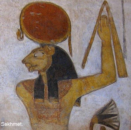 a0461bc0c316ee Hathor, transformé en Sekhmet